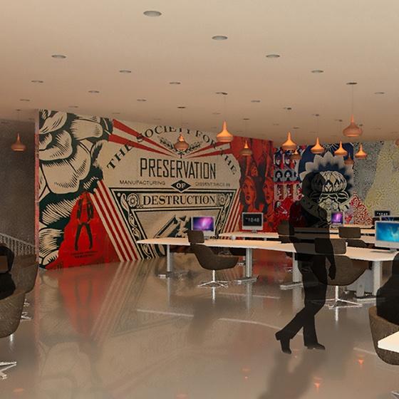 Tour The Art Institute of Dallas